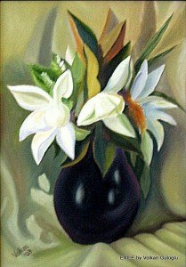 peinture, yağlı boya, painting, guaj, aquarelle, suluboya, gouache, Volkan Guloglu