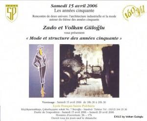 expo, Volkan Guloglu, Peinture, 2006