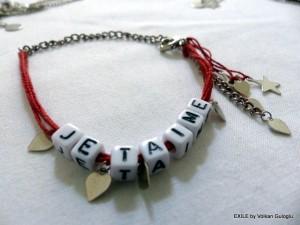 blacelet, bilekllik, cadeau, hediye, Volkan Guloglu, Exile