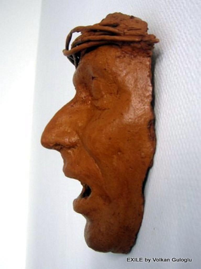 masques en terre-papier