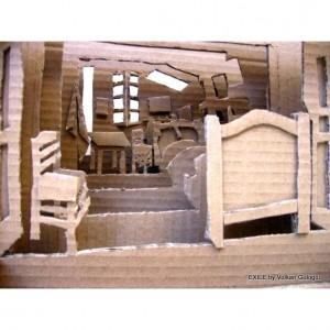 Sculptures en Carton, Volkan Guloglu