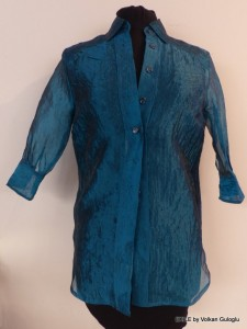 chemise, blouse, gömlek elbise, Volkan Guloglu, Exile, Pièce Unique