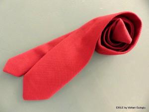 cravates, Volkan Guloglu, fait main, exile,