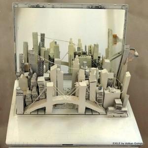 Sculptures en matériaux divers, Volkan Guloglu
