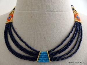 Volkan guloglu, Exile, collier, perle