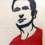 tableau en feutre, Volkan Guloglu, fait main