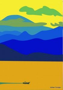 Volkan Guloglu, Grafik, graphique,Peinture, art, sanat,